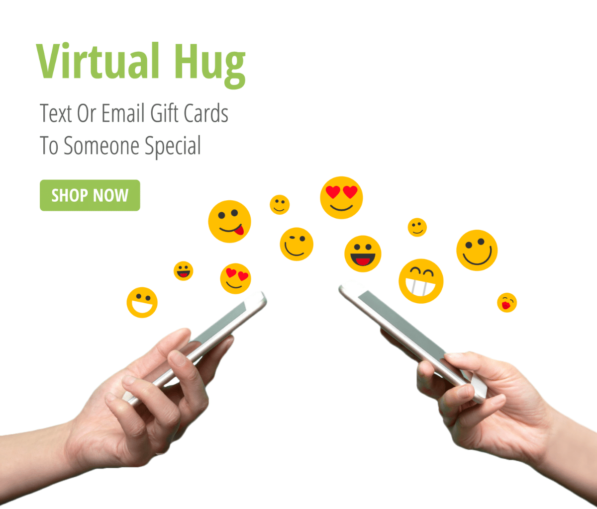 Text Email or Print Your Gift Cards